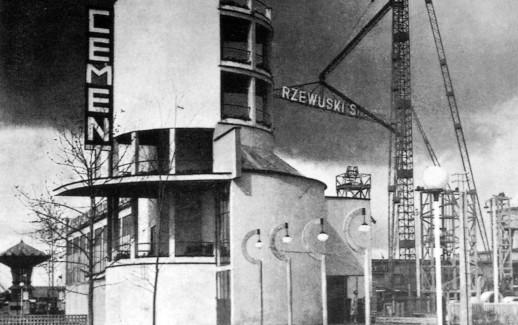 Esposizione Nazionale Industria 1929 - Padiglione Cemento - Bohdan Lachert