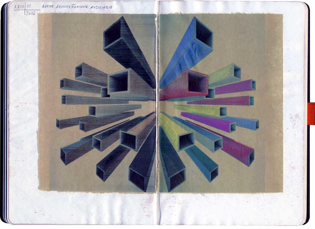 Massimo Gasperini - XXIII-II-2015 - Barre architettoniche ausiliarie