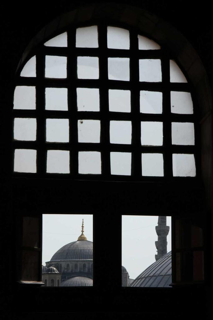 Moschea blu vista da Santa Sophia - Eleonora Liso