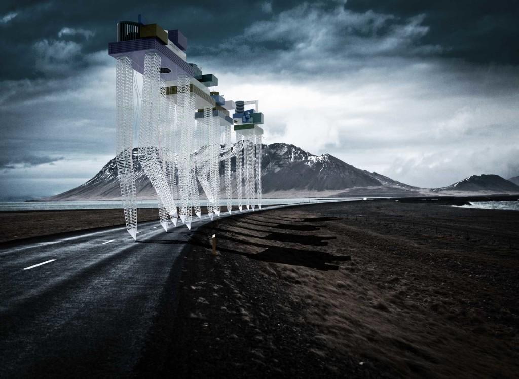 ©Massimo Gasperini - 2015 VII XII -Monster city - La migrazione