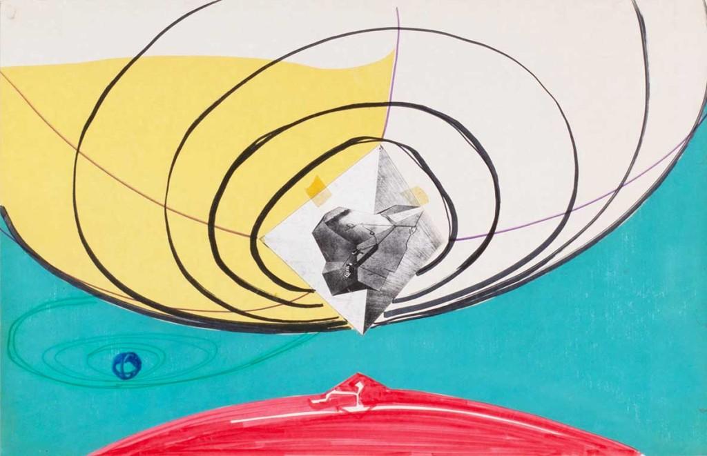 Luigi Pellegrin - Dal ciclo di disegni La rilettura della nostra storia - 1972 - 1