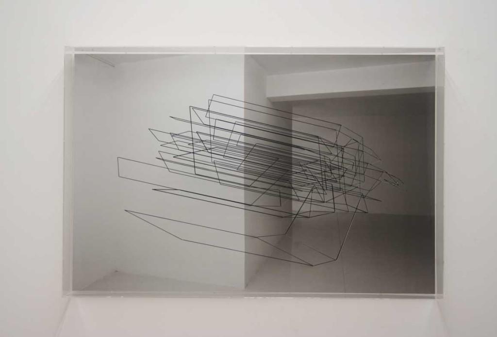 ©Emanuela Fiorelli - Installativo 5 - cm 67x100x12 - 2011