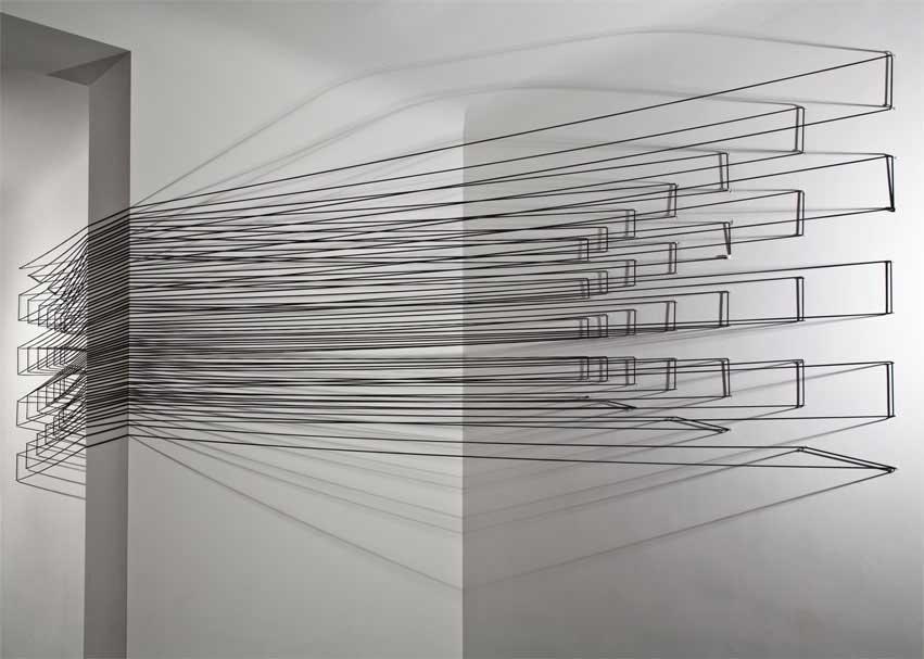 ©Emanuela Fiorelli - Installazione site specific - cm 500x150x150