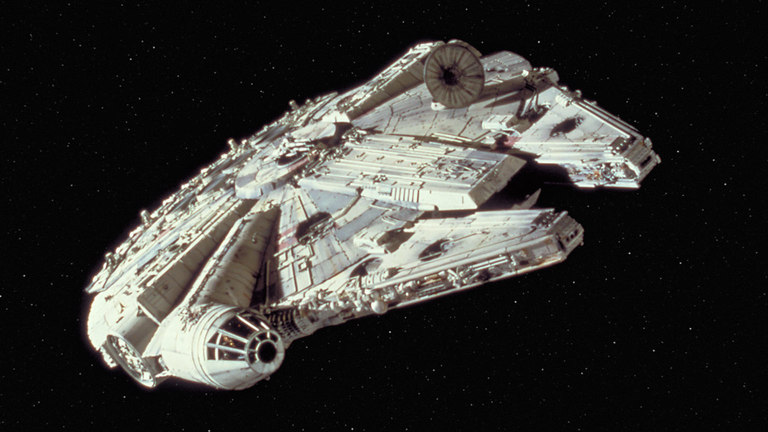 Star Wars - George Lucas 1977 - Millennium Falcon